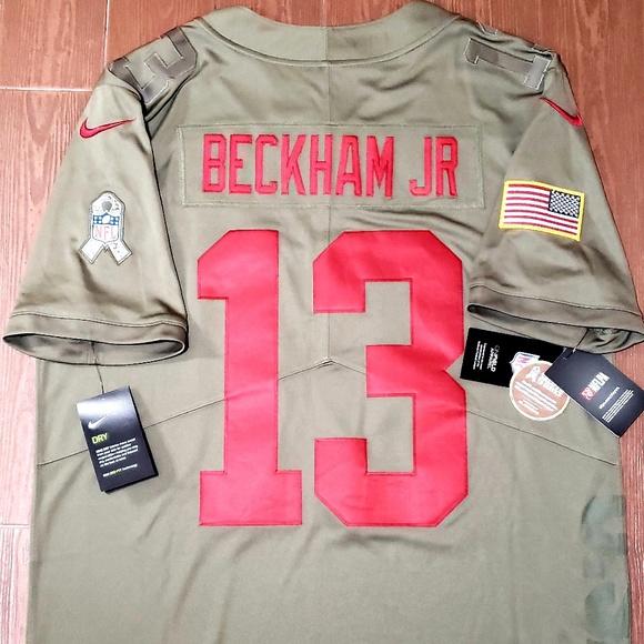 992a84aac Nike Salute to Service Beckham JR Giants Jersey. NWT
